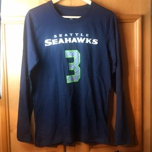 Seattle Seahawks Wilson NEW kids sz 14/16 tshirt